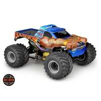 "JConcepts 2005 Chevy 1500 MT ""Samson"" Single Cab 12.5 Monster Truck Body (Clear)"