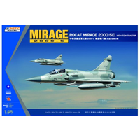 Kinetic K48045 1/48 MIRAGE 2000C ROCAF W/ TRACTOR