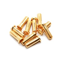 Maclan Racing MAX CURRENT 5mm Gold Bullet Connectors (10 pcs)