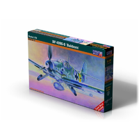 "Mistercraft C-107 1/72 BF-109G-5 ""Bakhorn"" Plastic Model Kit"