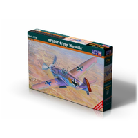 "Mistercraft C-40 1/72 BF-109F-4/trop ""Marseille"" Plastic Model Kit"