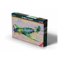 "Mistercraft C-69 1/72 BF-109G-2 ""Gotz"" Plastic Model Kit"