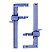 Proedge 2Pc Clamps Plastic Slide Small