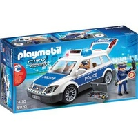 Playmobil Police Car W LightsAnd Sound