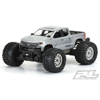 2019 CHEVY SILVERADO Z71 TRAIL BOSS CLEAR BODY FOR PRO-MT 4X4 & STAMPEDE 4X4 - PR3506-00