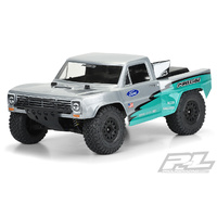 PROLINE PRE-CUT 1967 FORD F-100 RACE TRUCK CLEAR BODY FOR SLASH 2WD, SLASH 4X4 & PRO-FUSION SC 4X4 (WITH EXT MOUNTS) - PR3551-17