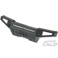 "Proline 6342-01 PRO-Armor Front Bumper with 4"" LED Light Bar for X-MAXXÂ"