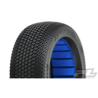 INVADER S4 (SUPER SOFT) OFF-ROAD 1:8 BUGGY TIRES (2) FOR FRONT OR REAR