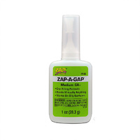ZAP-A-GAP CA+ Green Medium Viscosity 28.3g Adhesive