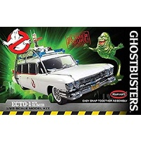 Polar Lights 1:25 Ghostbusters Ecto-1 *DSlimer Fig *D