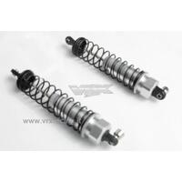 Alum. Front Shock silver (Fits also FTX-6356)