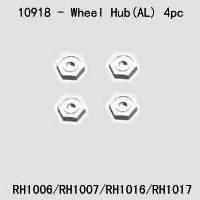 Alloy Wheel Hub silver (Also fits FTX-6365)