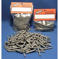 Robart 1/8 inchSteel Pin Hinge Points (100)