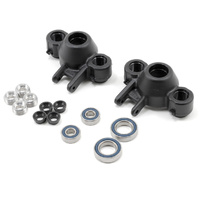 RPM Axle Carriers & Oversized Bearings (Black) (Revo/Slayer) (2)