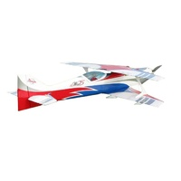 Sebart Miss Wind 50E RC Bi-Plane, ARF, Blue