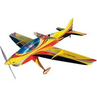 Sebart MythoS 50E RC Plane, ARF, Yellow Black