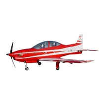 Sebart Pilatus PC21 50e RC Plane, ARF (Red / White)