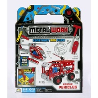 Metal Worx Twin Pk Rescue Vehicles