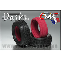 DASH 1/10 2WD Tyres in PINK compound (1 pair + ULTRA Insert)