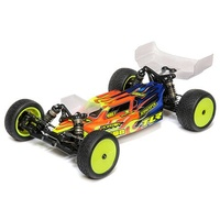 TLR 22 5.0 Stock Racer Buggy Kit, Dirt / Clay Edition