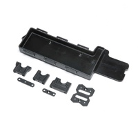 TLR Battery Tray, Center Diff Mount, 8XT