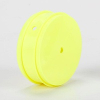TLR 61mm Front Wheel, 12mm Hex, Yellow (2): 22 3.0