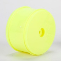 TLR 61mm Rear Wheel, 12mm Hex, Yellow (2): 22/22-4