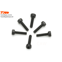 2x8mm Steel Cap Screw (6)
