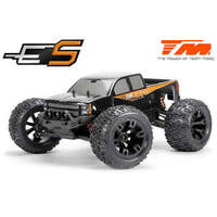 E5 1/10th B/Less Monster Truck Black