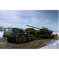 Trumpeter 01065 1/35 MAZ-537G Late Production type with ChMZAP-9990 semi-trailer Plastic Model Kit