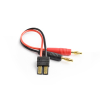 Male Traxxas Compatible plug to 4.0mm connector charging cable 16AWG 15cm silicone wire
