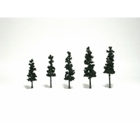 Woodland Scenics 2 1/2In - 4In Rm Real Pine 5/Pk