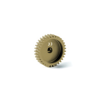 ALU PINION GEAR - HARD COATED 48 PITCH 33T - XY365733
