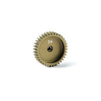 ALU PINION GEAR - HARD COATED 48 PITCH 36T - XY365736