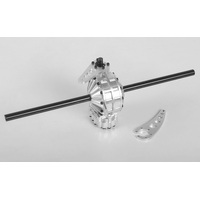¼ Scale Aluminum Rear Axle with Quick Change Gears (Skellenger Style)