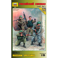 Zvezda 3561 1/35 Russian Special Forces Plastic Model Kit
