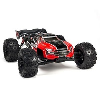 Arrma Kraton Monster Truck, 2019 Spec, 6S BLX, RTR, Red