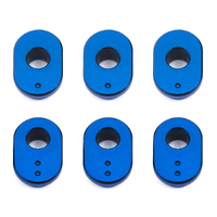 team associated RC10F6 Caster Bushings, aluminum
