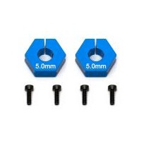 Team Associated Factory Team Clamping Wheel Hexes, 5.0mm