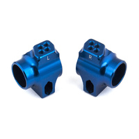 Team Associated B6 FT Blue Aluminum Rear Hubs