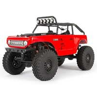 Axial SCX24 Deadbolt 1/24 Scale Crawler, RTR, Red
