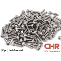 CHR Stainless Steel Screws Cap Head 3mmx12mm (10pcs)