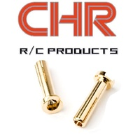 CHR 4mm Male Bullet Plug 2Pcs