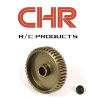 chr 48 pitch pinion 17t Hard anodized on the gear surface