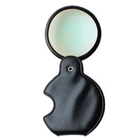 excel pocket magnifier with glass lens