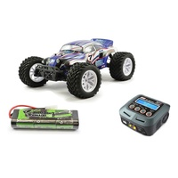 CHR FTX Bugsta 1/10 4WD Brushed Ready To Run Monster Truck Extra play Combo