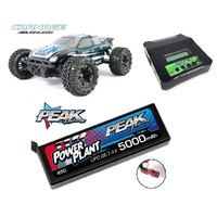 CHR FTX Carnage 1/10 4WD Brushless Ready To Run Truggy Extra play Combo