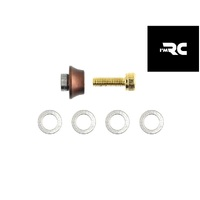IM RC CRANKSHAFT EXTENSION NUT-WASHER SET1-8TH BUGGY, TRUGGY & GT  - iM104