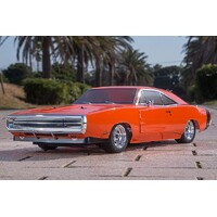 Kyosho 34417T1 1/10 EP 4WD FAZER Mk2 FZ02L Series Readyset Dodge Charger 1970 Hemi Orange