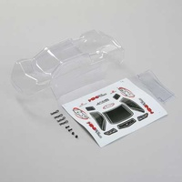 Losi Body, Clear, Mini T 2.0